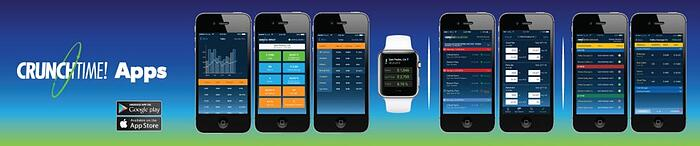 CrunchTime mobile applications for restaurant management