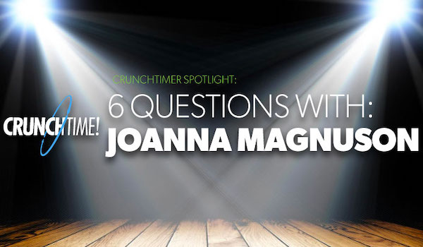 Blog feature image - CrunchTimer spotlight Joanna Magnuson